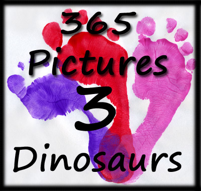 365 Pictures from 3 Dinosaurs