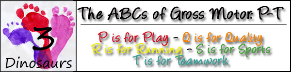 ABCs of Gross Motor Day 4: P-T