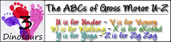 ABCs of Gross Motor Day %: U-Z