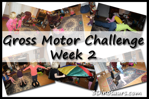 Gross Motor Challenge Week 2