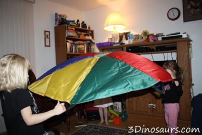 Small Parachute Activities