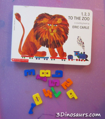 Gross Motor & Counting with 1,2,3 to the Zoo