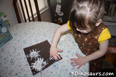 Hand Print Snowflake