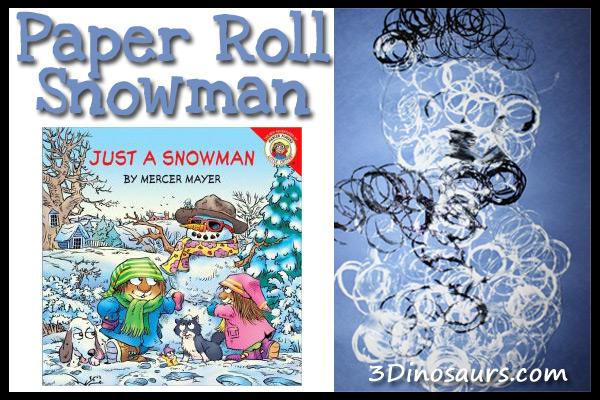 Paper Roll Snowman