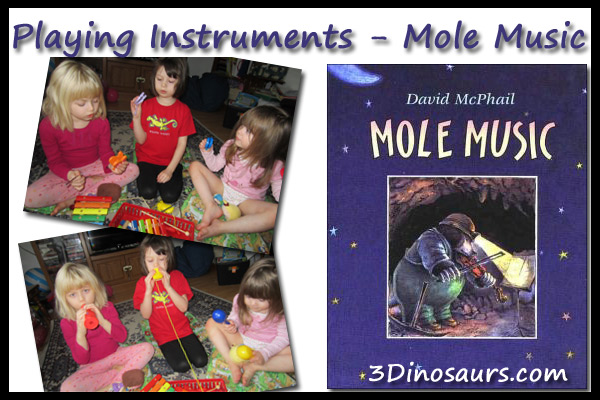 Playing Instruments - Mole Music
