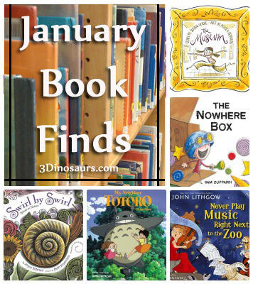 January 2014 Book Finds  - 3Dinosaurs.com