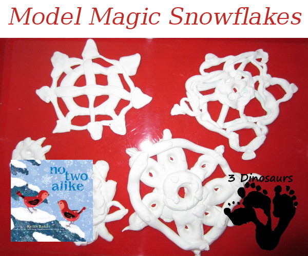 Model Magic Snowflakes - 3Dinosaurs.com