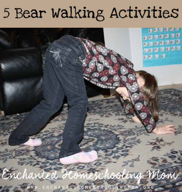 5 Bear Walking Activities for Kids - 3Dinosaurs.com