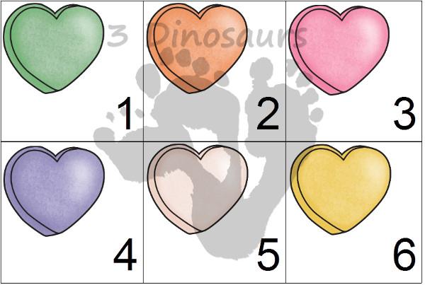 Free 2016 Valentines Calendar Printable- 3Dinosaurs.com