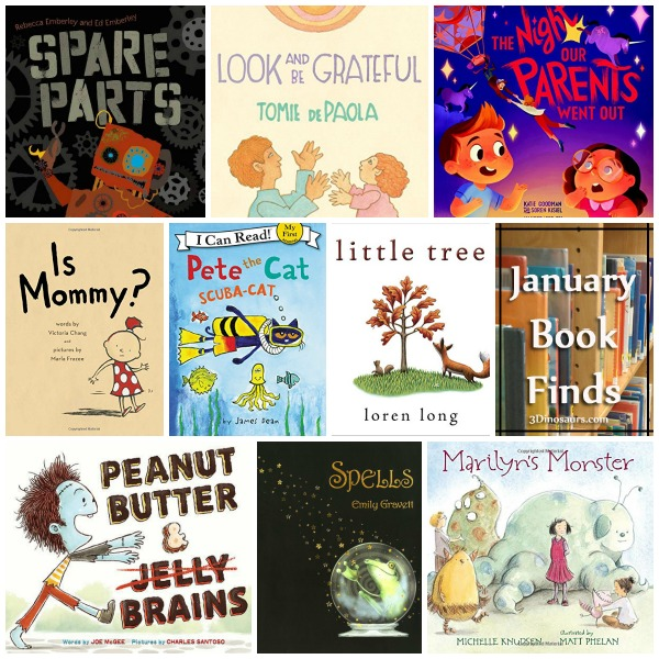Janaury 2016 Book Finds: Pete the Cat, growing up, robots - 3Dinosaurs.com