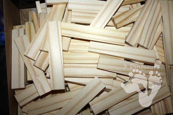 STEM Challenge: Keva Plank Dominos - a hands-on fun STEM Challenge - 3Dinosaurs.com