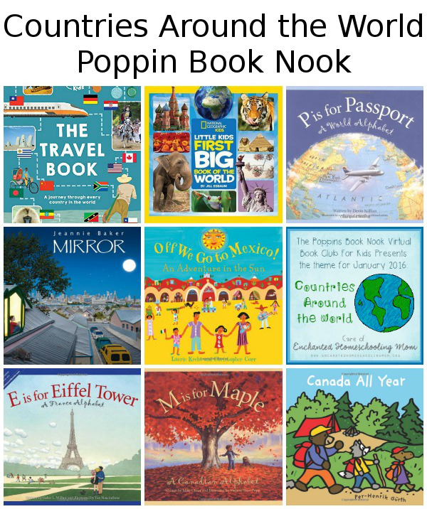 Poppin Book Nook: Countries Around the World