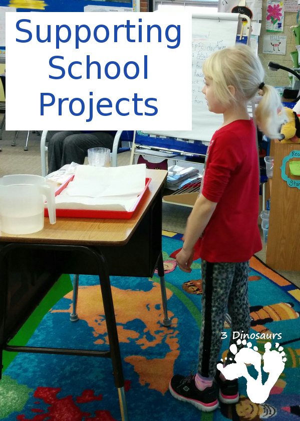 Supporting School Projects - help with projects you do at home and take to school or just helping with projects at school - 3Dinosaurs.com