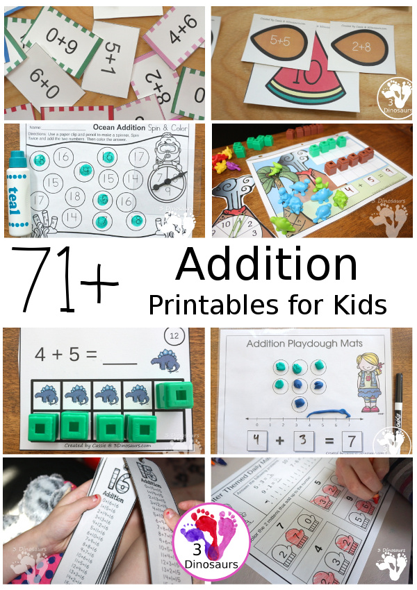 Addition Activities & Printables