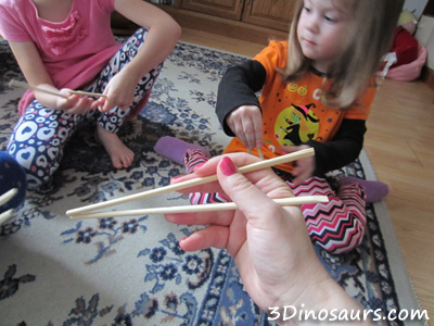 Playing with Chopsticks