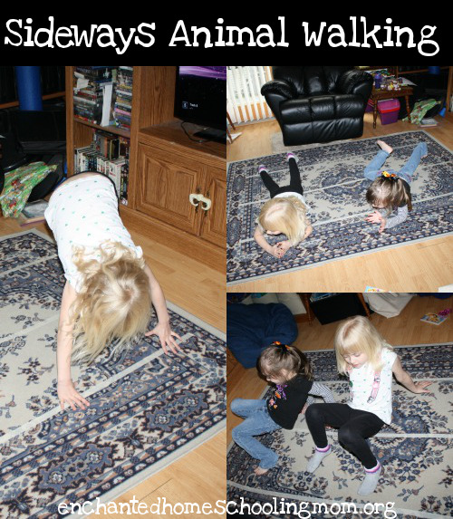 Sideways Animal Walking - 3Dinosaurs.com