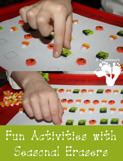 Fun Activities with Seasonal Erasers