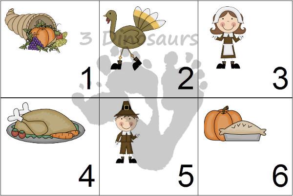 Free 2014 Pumpkin Calendar Set - 3Dinosaurs.com