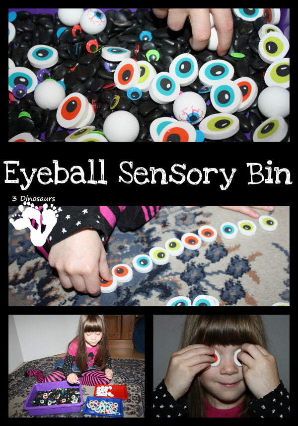 Eyeball Sensory Bin - 3Dinosaurs.com