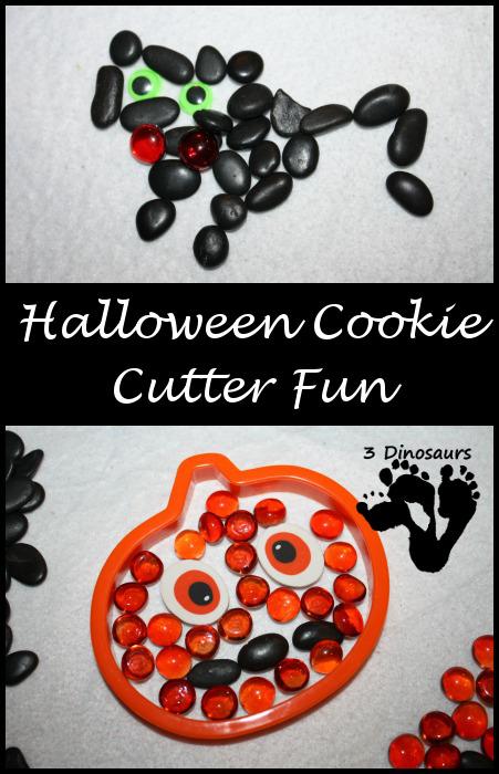 Halloween Cookie Cutter Fun - 3Dinosaurs.com