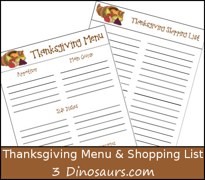 image regarding Printable Thanksgiving Menu known as Regular monthly Targets November 2014 with Thanksgiving Menu Printable
