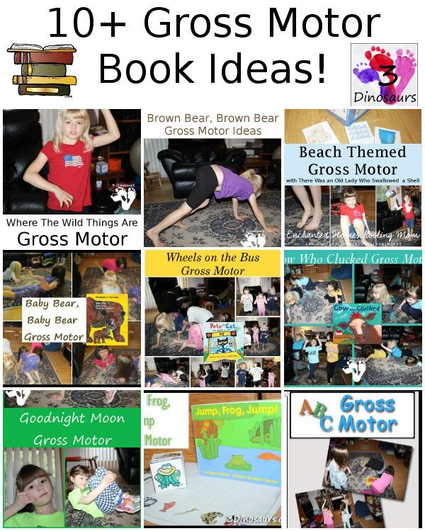 10+ Gross Motor Book Ideas! - 3Dinosaurs.com
