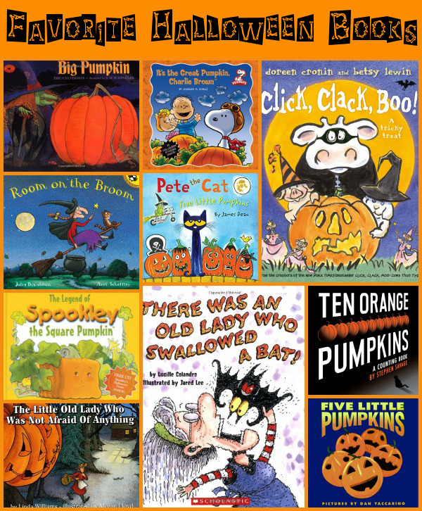Our Favorite Halloween Books! - 3Dinosaurs.com