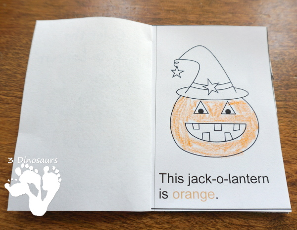 Free Halloween Pack For Tot, Preschool, PreK & Kindergarten - fun printables with a mix of activities with cards, puzzles, hands-on activities and more with a fun Halloween theme that can be used with the book There was an Old Lady who Swallowed a Bat Over 110 pages - 3Dinosaurs.com