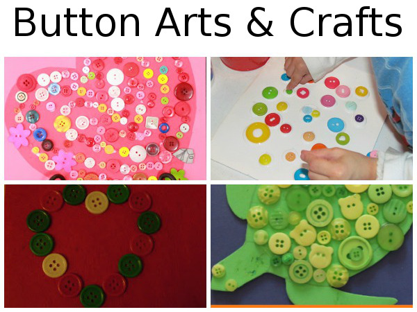 25 + Button Activities: Arts & Crafts