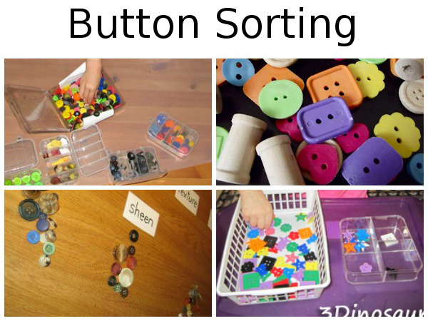 25 + Button Activities: Sorting