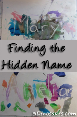 Finding the Hidden Name - 3Dinosaurs.com