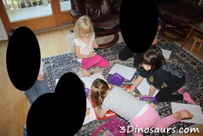 Girls Dinosaur Party!