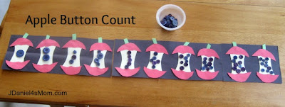 JDaniel4's Mon - Ten Apples - With Button Counting