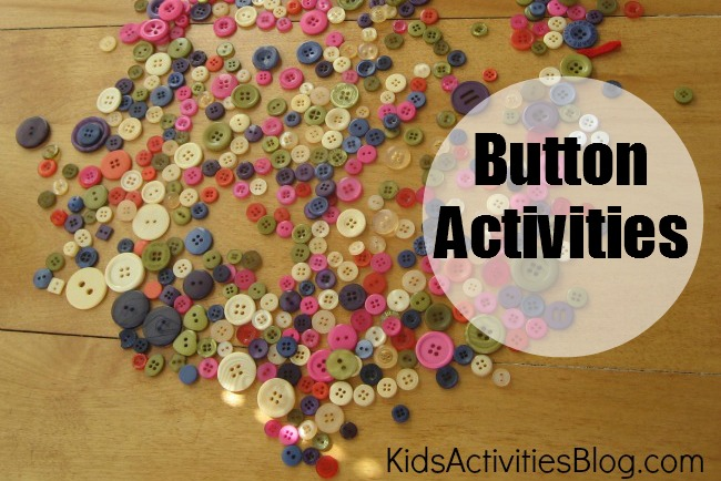 Kids Activity Blog - Button Activities