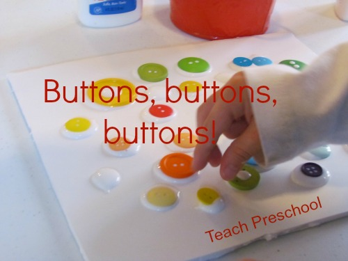 Teach Preschool - Button Activity with Pete the Cat