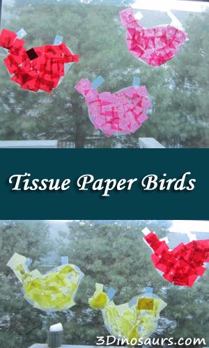 Tissue Paper Birds