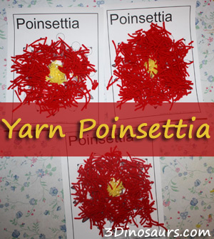 Yarn Poinsettia