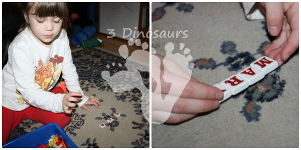 ABC Sensory Bin - 3Dinosaurs.com