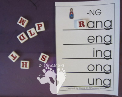 Free Digraph Word Ladders - 3Dinosaurs.com