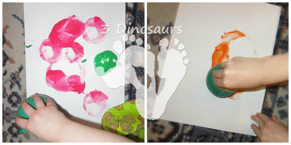 Painting with Balloons - 3Dinosaurs.com