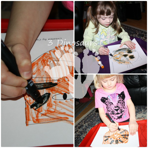 Exploring Tiger Stripes - Poppin Book Nook - 3Dinosaurs.com
