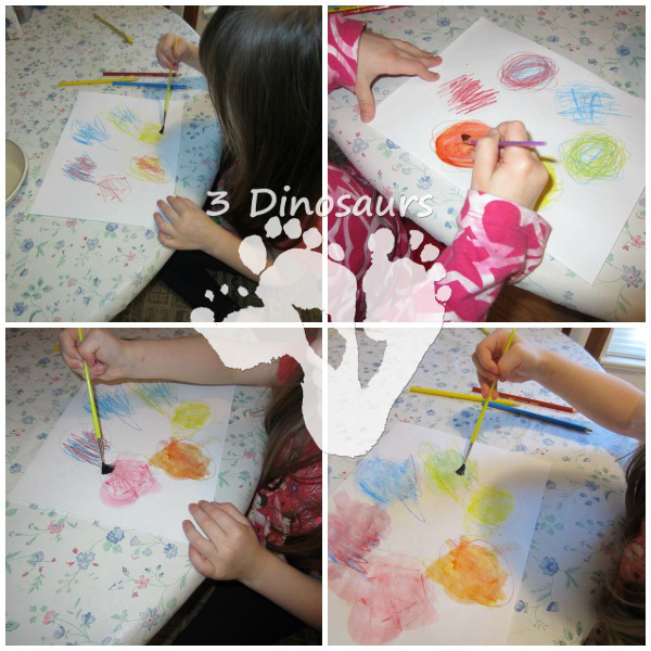 Watercolor Color Wheel - 3Dinosaurs.com