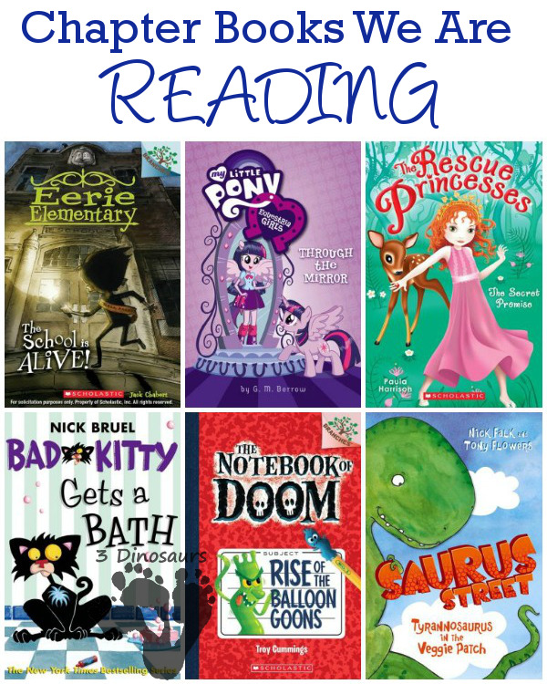 Chapter Books We are Reading Fall 2014: Dinosaurs, funny, princess, animal, My Little Pony - 3Dinosaurs.com