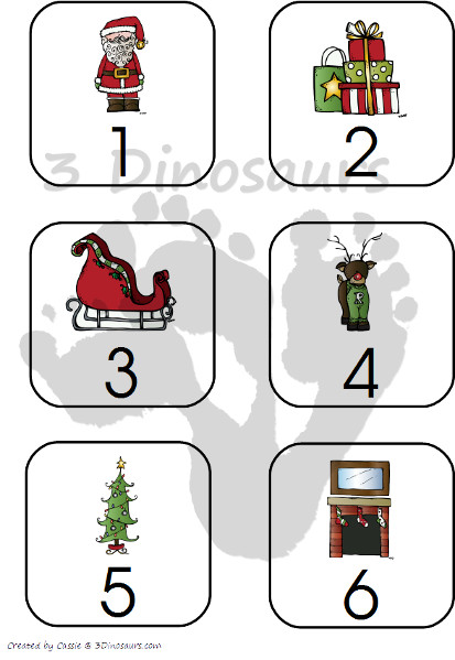 Countdown to Christmas with Books with Free Printable- 3Dinosaurs.com