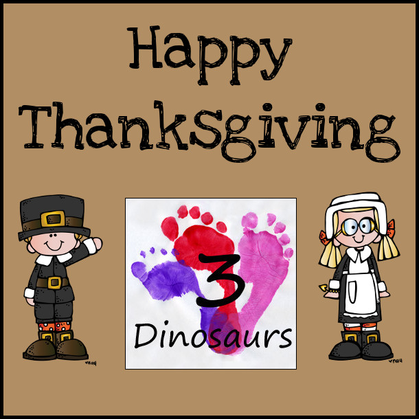 Happy Thanksgiving 2014- 3Dinosaurs.com