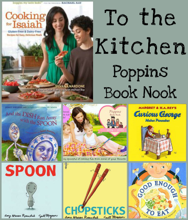 November Poppins Book Nook: To the Kitchen - 3Dinosaurs.com