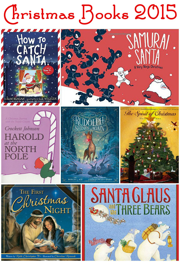 Our New Christmas Books For 2015 - 7 fun new books to read for Christmas - 3Dinosaurs.com
