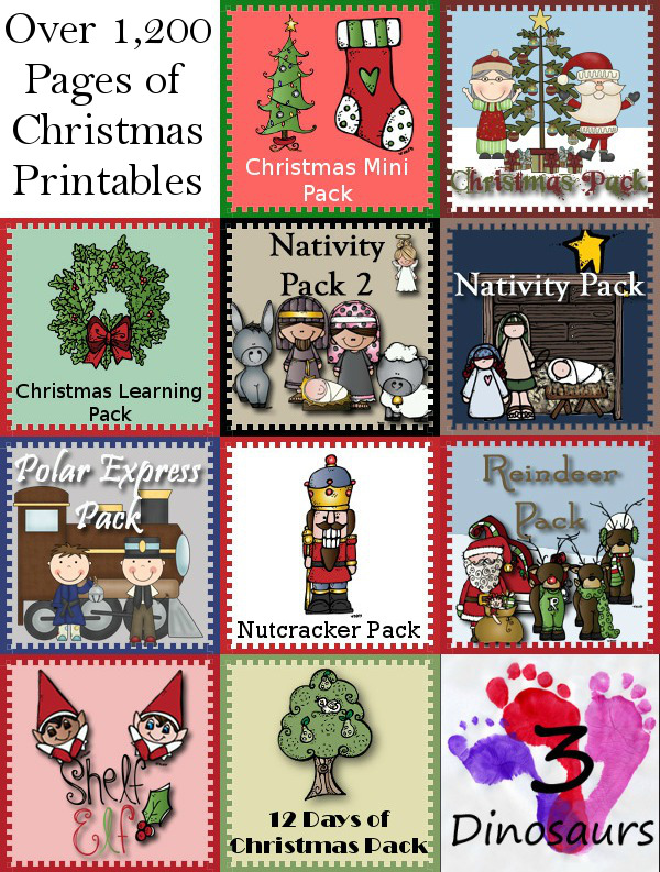 30+ Christmas Printables for Kids