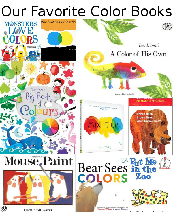 Our Favorite Color Books
