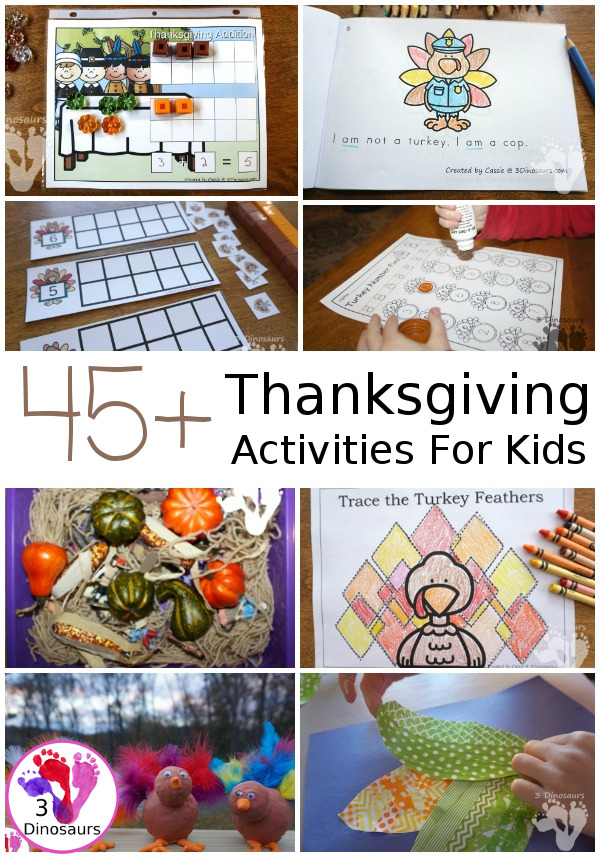 Thanksgiving Printables & Activities